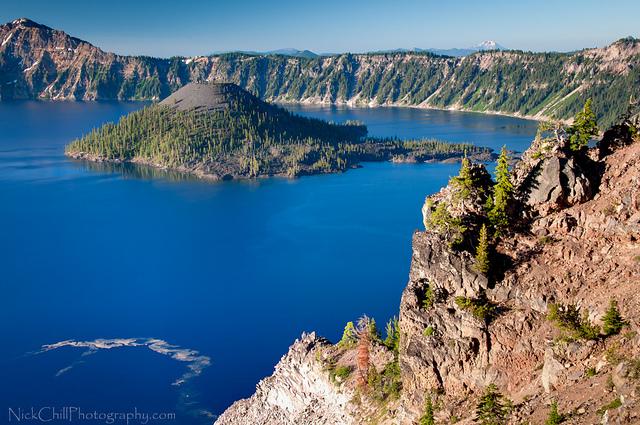 CC BY-NC-SA. Nick Chill. Crater Lake, Oregon. Flickr