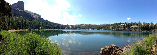 CC-By jcookfisher. Round Lake, Lake Tahoe.  Flickr