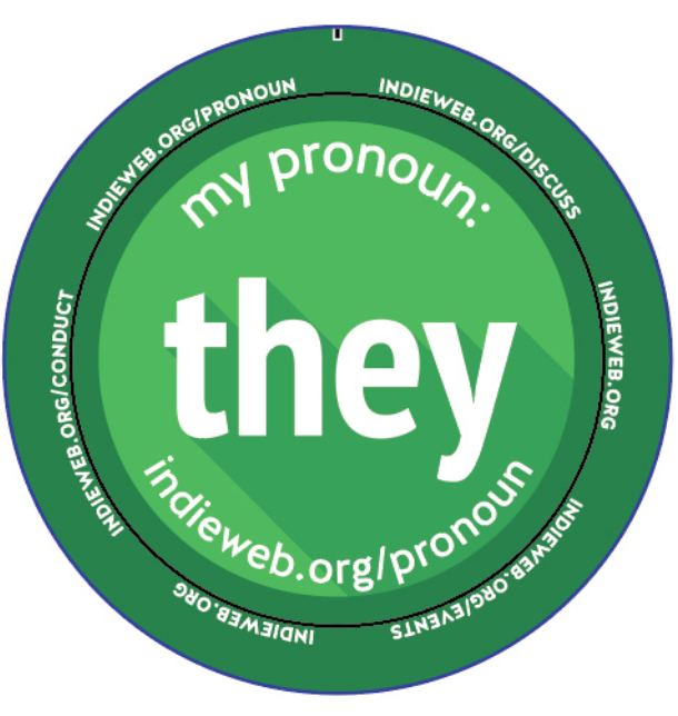 my pronouns he they
