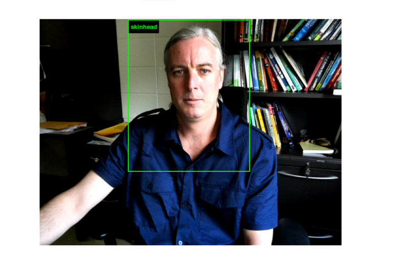 Well @trevorpaglen https://imagenet-roulette.paglen.com/ has compared my image to the world and decided I am a skinhead